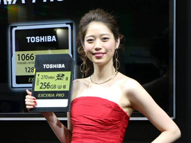 SDカード UHS3TOSHIBA