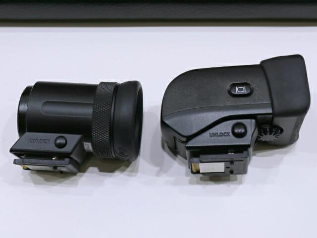 EVF DC1 2比較側面