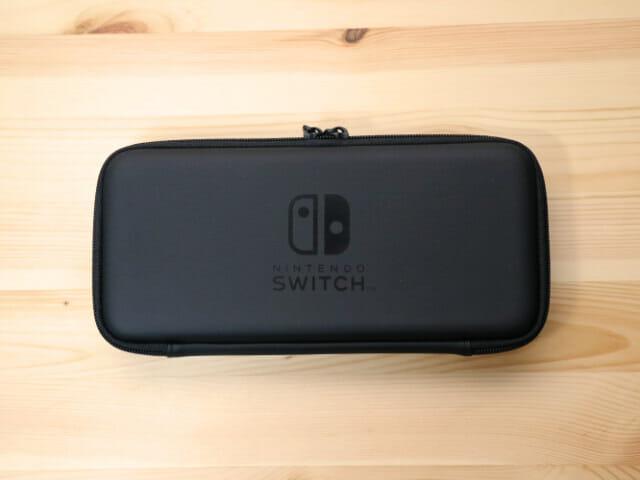 NintendoSwitch専用スマートポーチ 本体正面