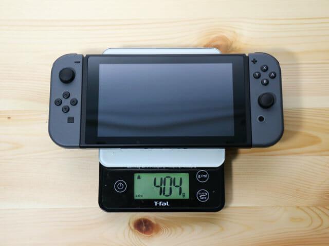 NintendoSwitch専用スマートポーチ ゲーム機重量
