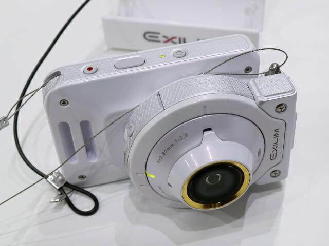 CASIO EXILIM EX FR100L ホワイトカメラモード