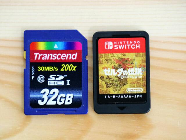NintendoSwitchゲームパッケージ版カード