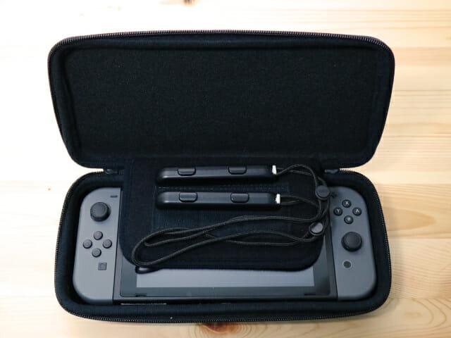 NintendoSwitch専用スマートポーチ グリップ入れ