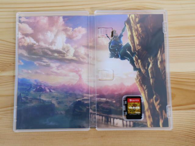 NintendoSwitchゲームパッケージ版開封