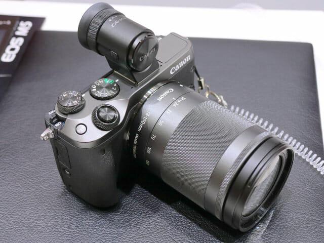 EOSM6 18 150mm正面左上