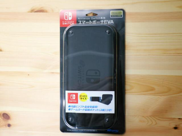 NintendoSwitch専用スマートポーチ パッケージ