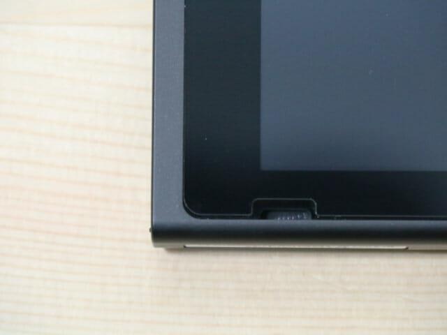 NintendoSwitch専用液晶保護フィルム多機能 完了左下