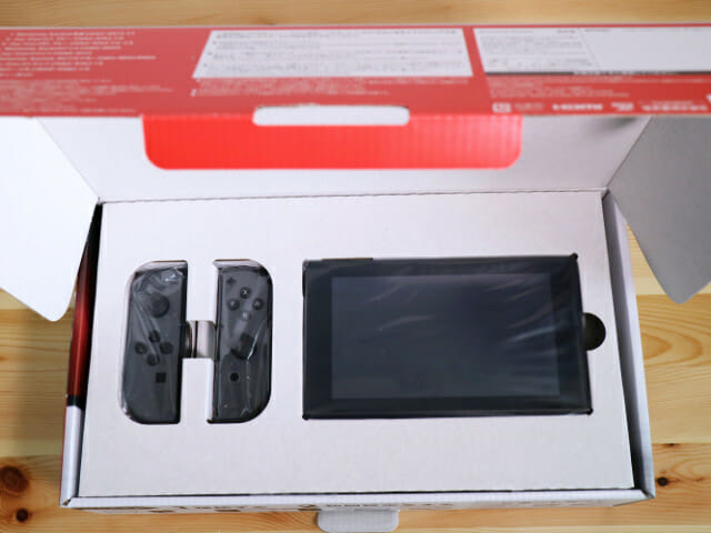 NintendoSwitch開封1