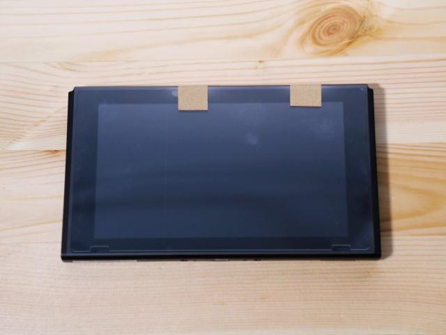 NintendoSwitch専用液晶保護フィルム多機能 位置合わせ