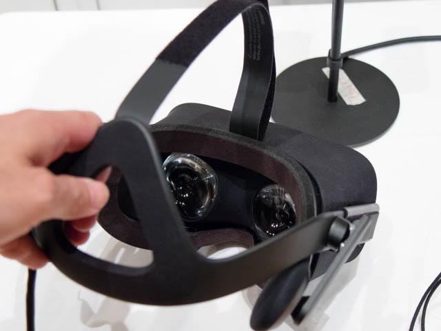 DellVRゲーミング体験会 Oculus Riftヘッドマウントディスプレイ