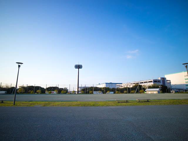 潮干狩り東扇島東公園 多目的広場