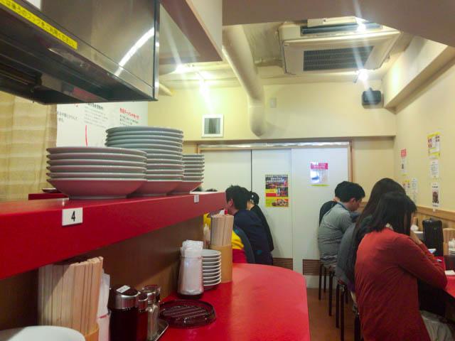 台湾ラーメン味仙 店内