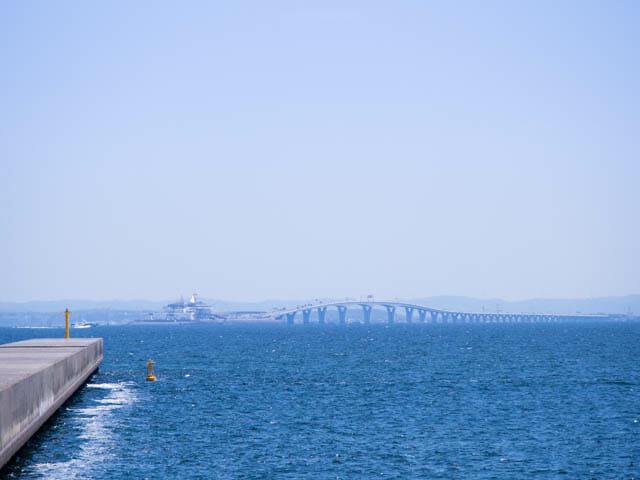 潮干狩り東扇島東公園 東京湾アクアライン海ほたる