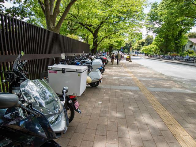 神代植物公園 駐輪場