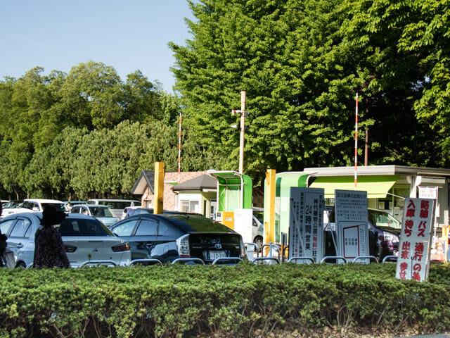 神代植物公園 駐車場