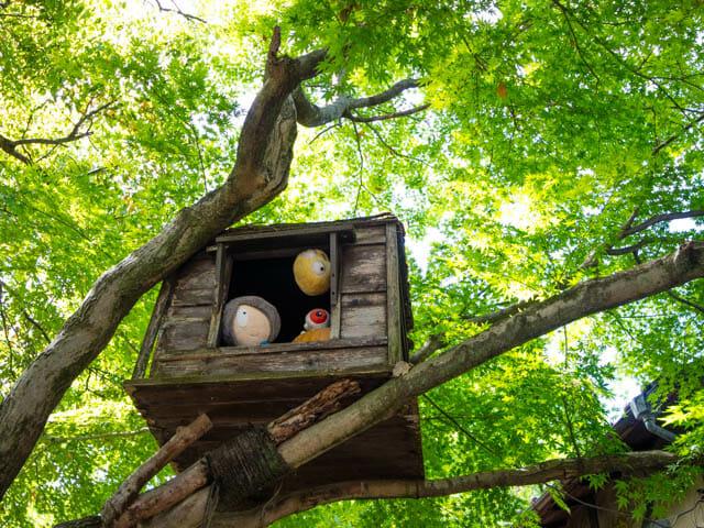 神代植物公園 鬼太郎茶屋 鬼太郎の家