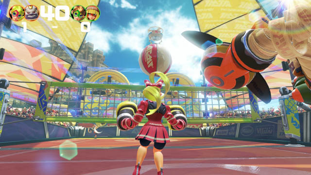 ARMS 体験会 パーティマッチ バレーボール