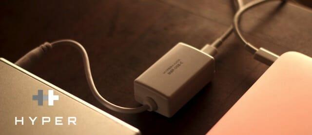HYPER JUICE USB C Adapter本体