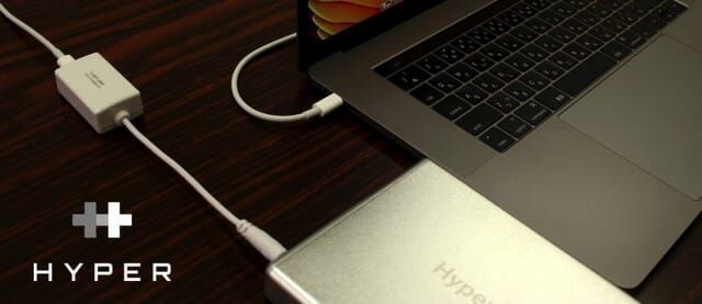 HYPER JUICE USB C Adapter