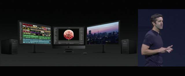 WWDC17 19 macOS iMacPro外部モニタandRAID