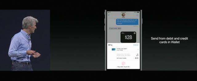 WWDC17 22 iOS 個人間送金