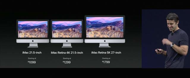 WWDC17 15 macOS iMacラインナップ