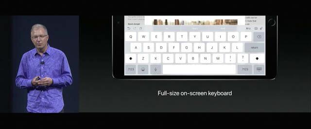 WWDC17 29 iOS iPadProフルサイズキーボード