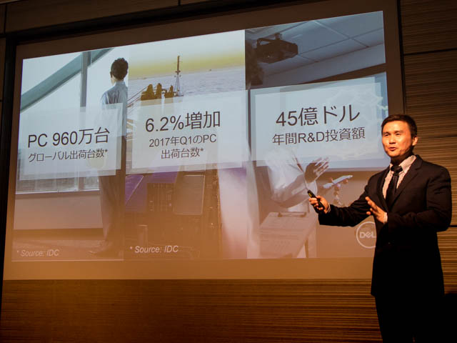 DELL新製品発表会201706 ビジネス状況
