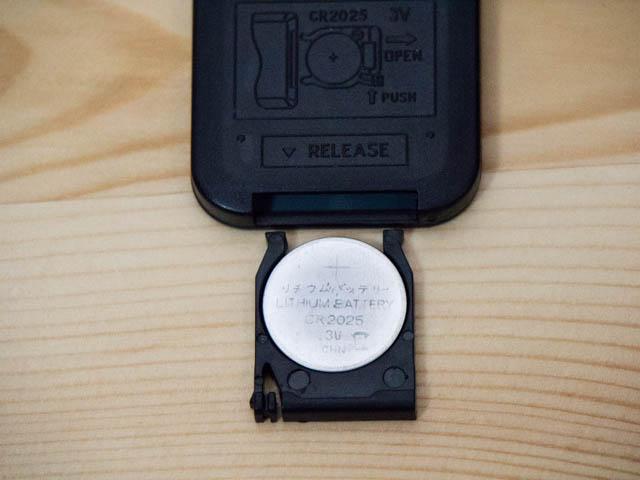 AUKEY HDMI切替機 リモコン電池