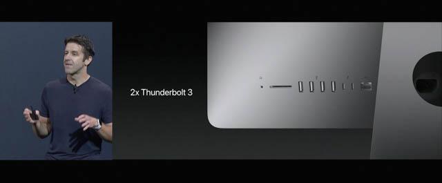 WWDC17 12 macOS iMacThunderbolt3