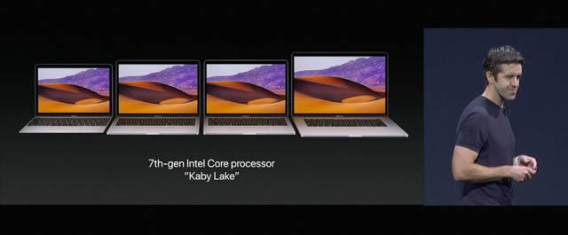 WWDC17 16 macOS MacBookKabyLake