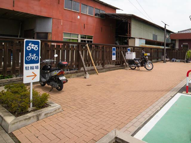 富岡製糸場 無料駐輪場