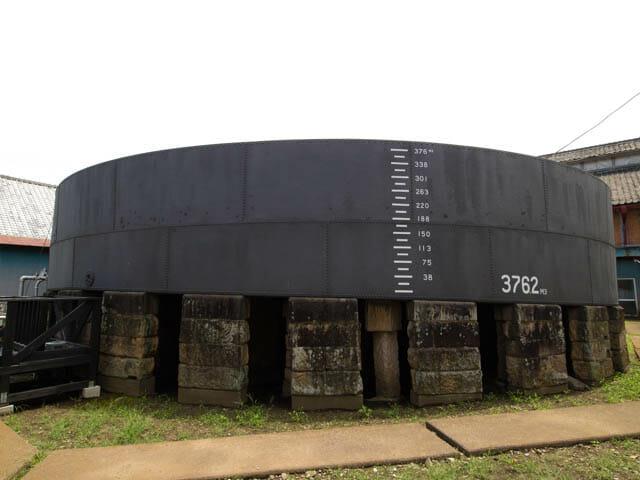 富岡製糸場 鉄水溜