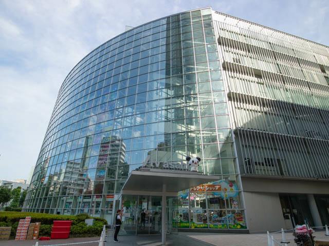 テレビ朝日 社屋入口