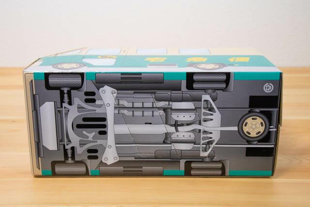 クロネコ ウォークスルーお菓子BOX 底面