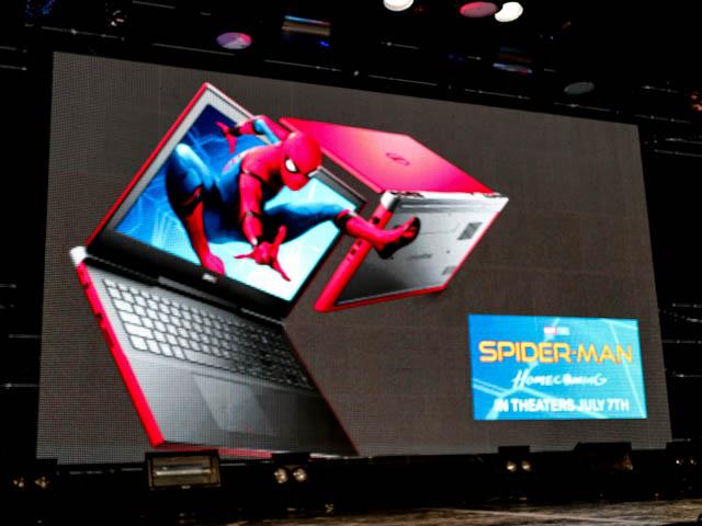 NewInspiron15 7000ゲーミングスパイダーマン
