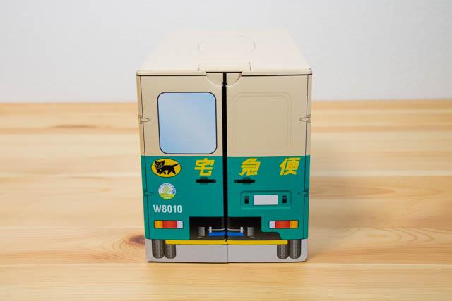 クロネコ ウォークスルーお菓子BOX 背面