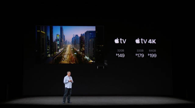 AppleSpecialEvent201709 AppleTV価格