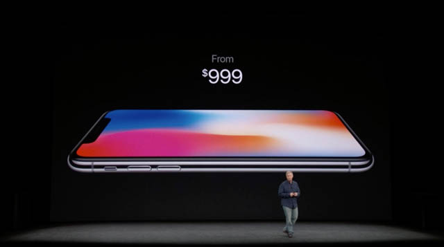 AppleSpecialEvent201709 iPhoneX価格