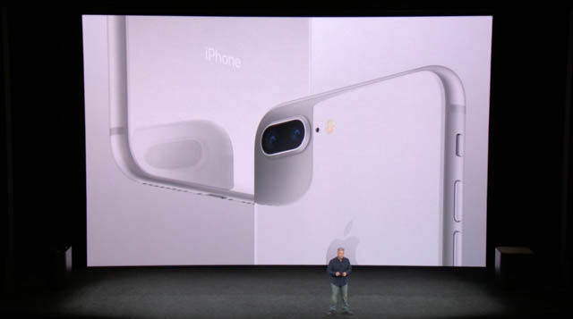 AppleSpecialEvent201709 iPhone8本体