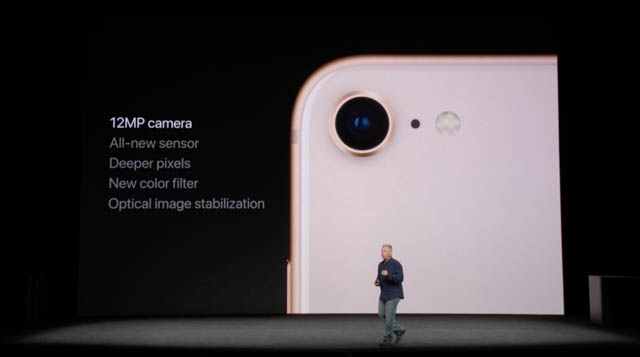 AppleSpecialEvent201709 iPhone8カメラ