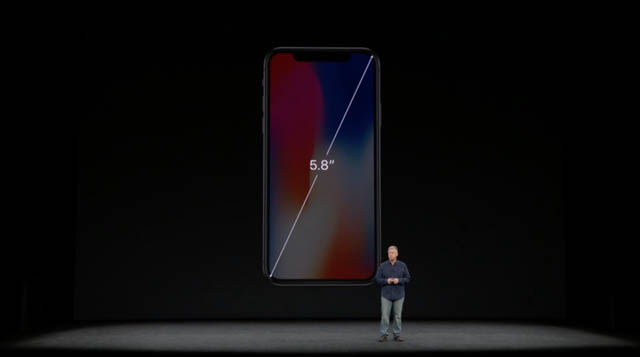 AppleSpecialEvent201709 iPhoneX画面