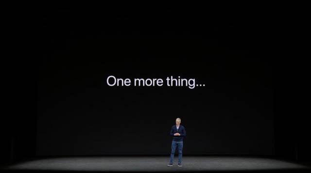 AppleSpecialEvent201709 iPhoneXOneMoreThing