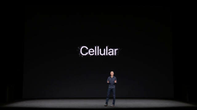 AppleSpecialEvent201709 AppleWatchCellular