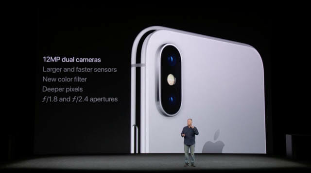 AppleSpecialEvent201709 iPhoneXカメラ