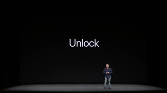 AppleSpecialEvent201709 iPhoneXUnlock