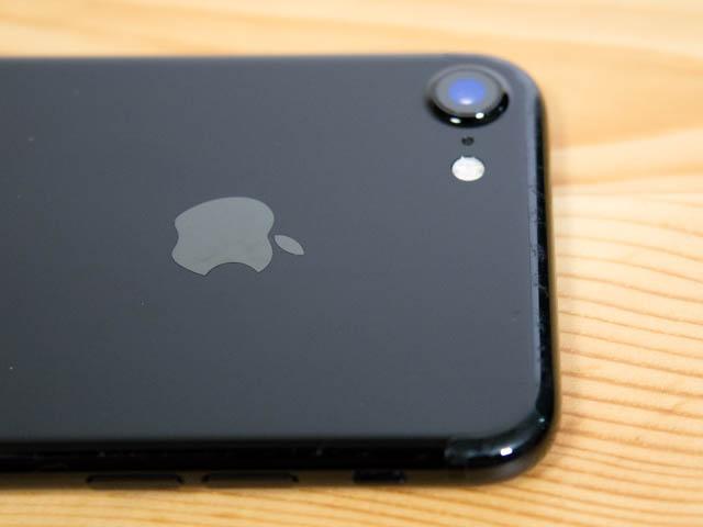 IPhone7 GeniusBar 1年使用傷上部