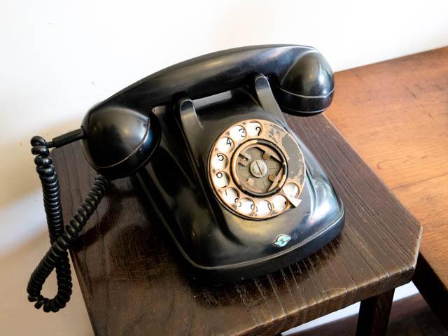 江戸東京たてもの園 黒電話