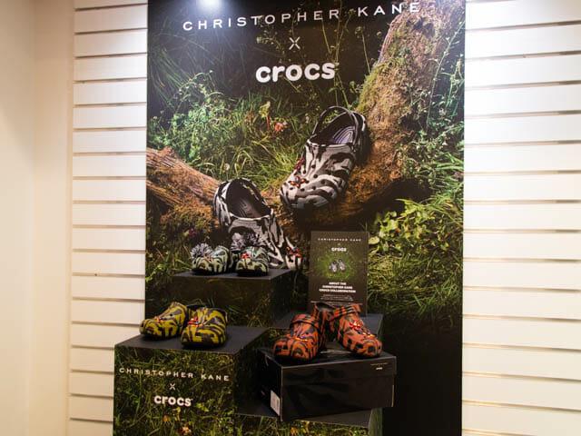 Crocs ChristopherKane ディスプレイ