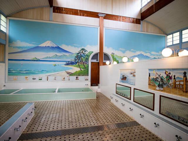江戸東京たてもの園 子宝湯 浴場